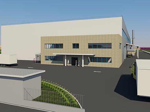 Costruzione di un edificio industriale - Nogara (Vr)