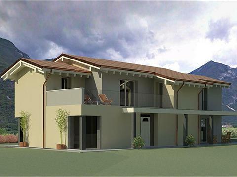 Demolizione e ricostruzione con ampliamento di un edificio residenziale - Dolcè (Vr)
