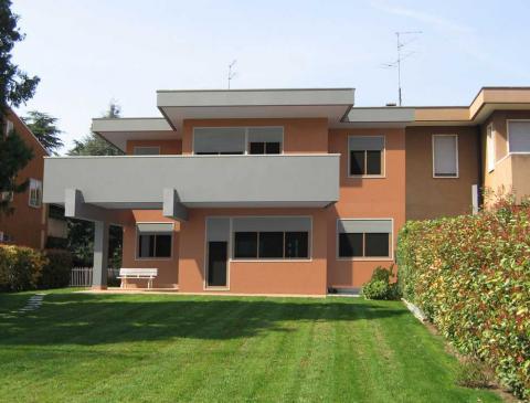 Elaborazione grafica per ritinteggiatura di una porzione di bifamiliare sita nel Comune di Verona